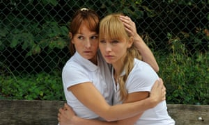 Claire (Anaïs Demoustier), left, and Laura (Isild Le Besco) in François Ozon's The New Girlfriend.