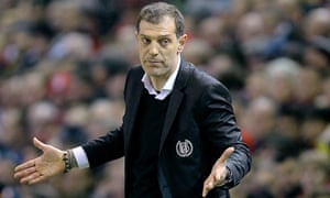 Slaven Bilic takes charge of West Ham on a three-year deal.