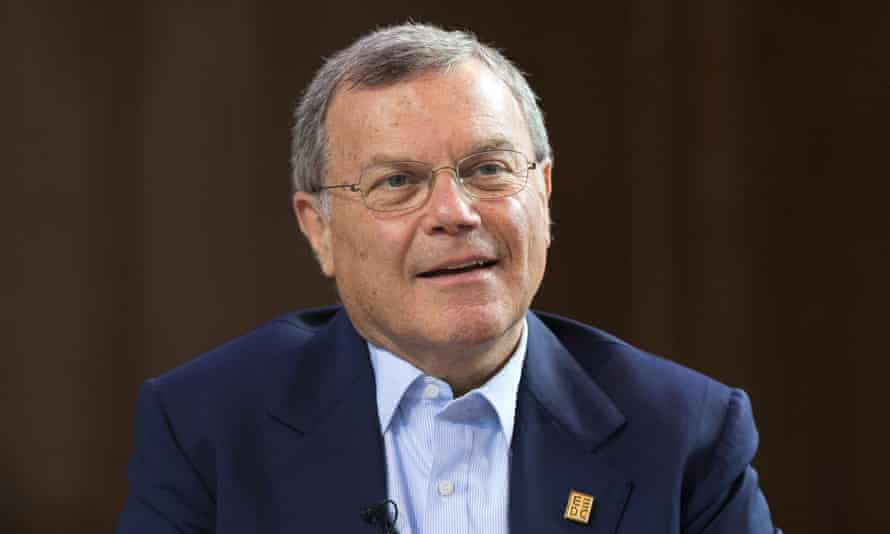 WPP's Sir Martin Sorrell: received a total pay package of £43m last year