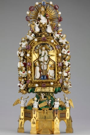 Holy Thorn reliquary of Jean, Duc de Berry (before 1397).