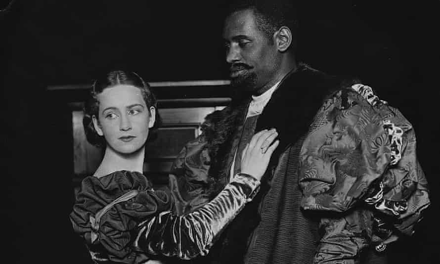 Peggy Ashcroft and Paul Robeson in Othello