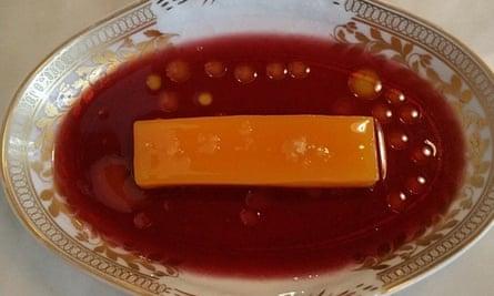 Nuno Mendes' abade de priscos, or pork fat pudding