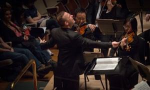 Yannick Nézet-Séguin conducts the Philadelphia Orchestra