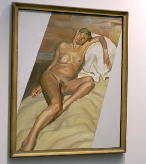 Naked Portrait 2002 by Lucian Freud