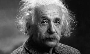 Albert Einstein ... a voice for the oppressed. Photograph: Corbis