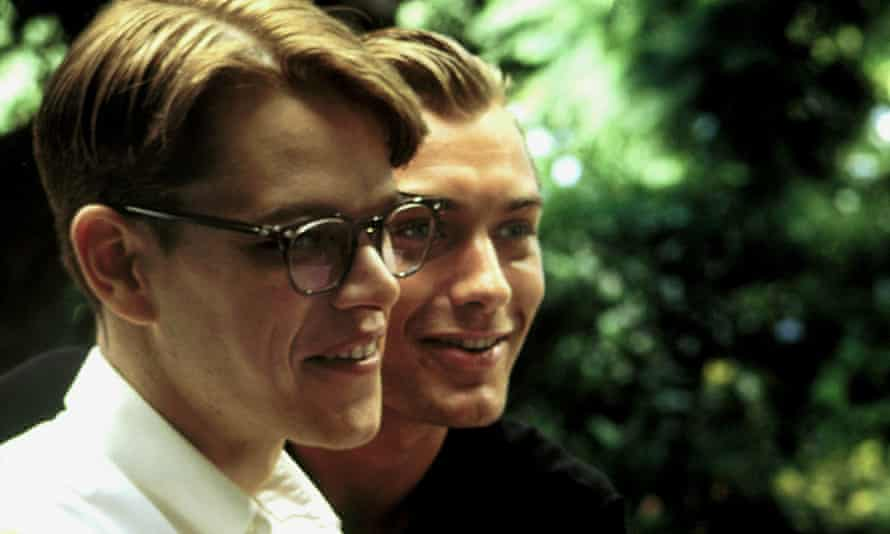 Matt Damon and Jude Law in the 1999 film The Talented Mr Ripley.