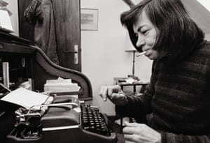 Novelist Patricia Highsmith in 1976.
