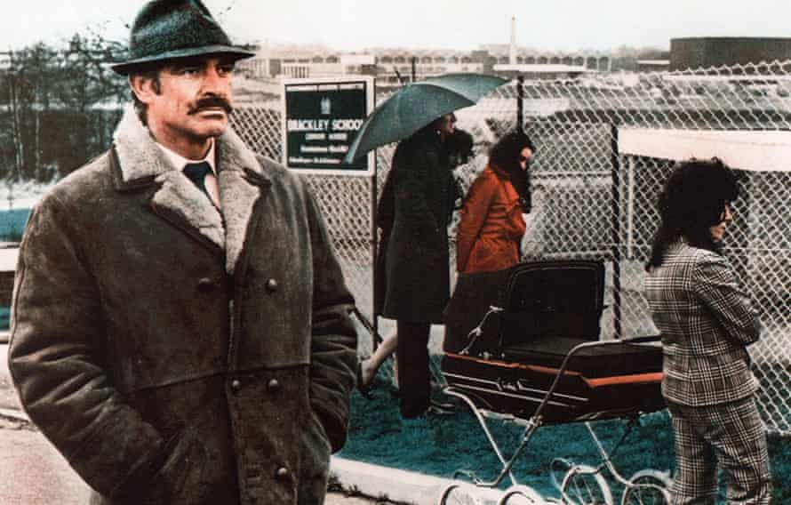 Sean Connery as the 'explosive, guilt-ridden' Detective Sergeant Johnson in The Offence.