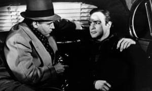 Marlon Brando, right, with Rod Steiger in On the Waterfront.