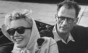 Marilyn Monroe and Arthur Miller pictured in 1956, shortly after their marriage.