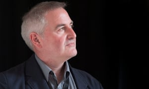 New childen's laureate Chris Riddell, photographed at Bafta shortly before being interviewed by the Guardian children's books young interview team