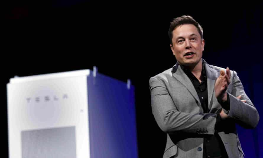 Tesla CEO Elon Musk reveals the Powerwall Home Battery on April 30. His enthusiasm for widespread consumer use of such batteries, however, isn't shared by other experts.