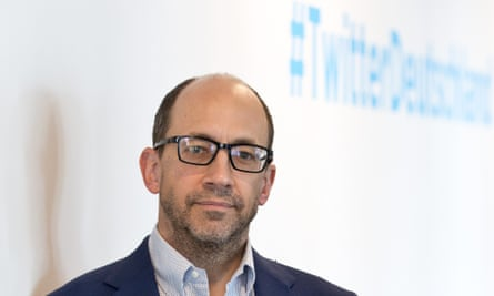 Dick Costolo, who is standing down from running Twitter.