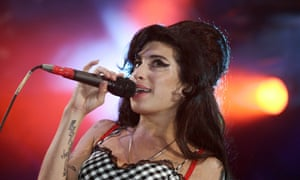 Amy Winehouse … Performing in London in 2007.