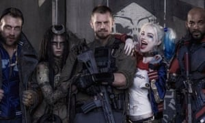 Dark days ... the main cast members of Suicide Squad, who were offered an on-set therapist.