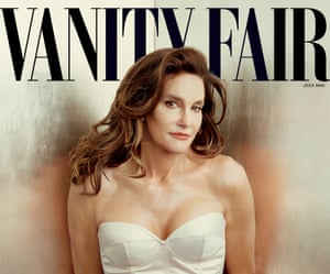 Caitlyn Jenner on the cover of Vanity Fair in June