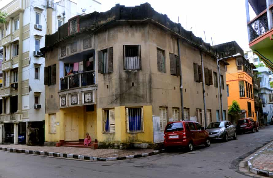 Pratapaditya Road in the historic neighbourhood of Bhowanipore, South Kolkata.