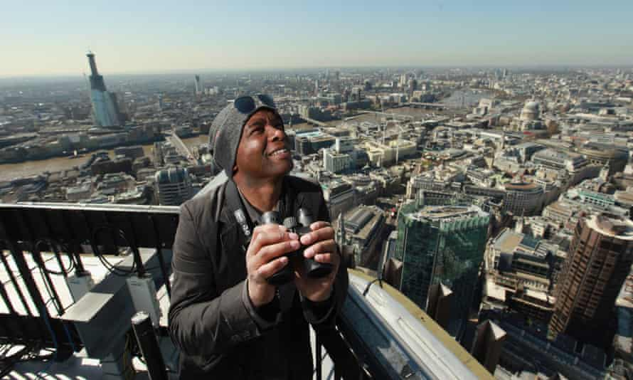 David Lindo on the Tower 42 office block in London.