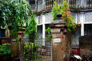 A house on Hindustan Park, Kolkata.