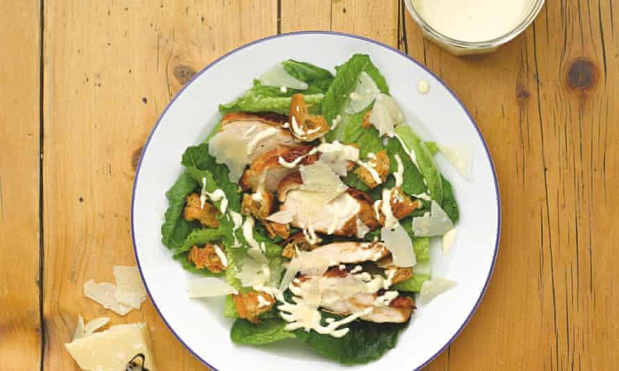 Waitrose: chicken caesar salad