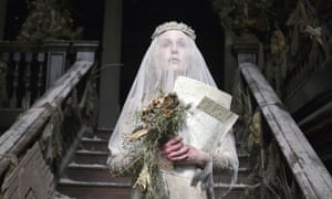Gillian Anderson as Miss Havisham in the BBC's Great Expectations.