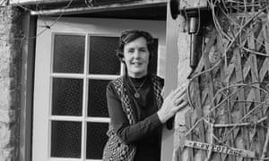 English novelist and writer, Barbara Pym in 1979.