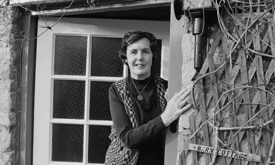 English novelist and writer, Barbara Pym in 1979.