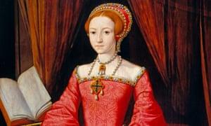 Elizabeth I as a Princess, 1546-7.