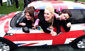 New Guinness World Record set as 28 people fit into a Mini.