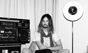 Psychedelic shack: Tame Impala's Kevin Parker.