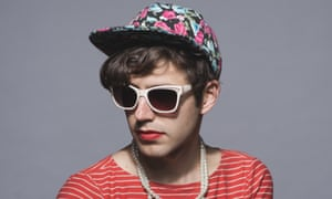 Blurred lines: Ezra Furman.