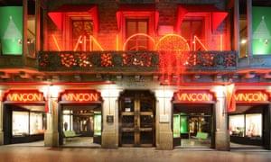 The Vinçon shopfront.