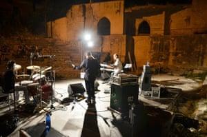 Artists at Otranto Jazz Festival.