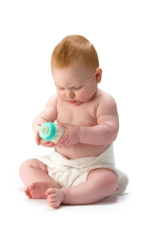 baby in reusable nappy