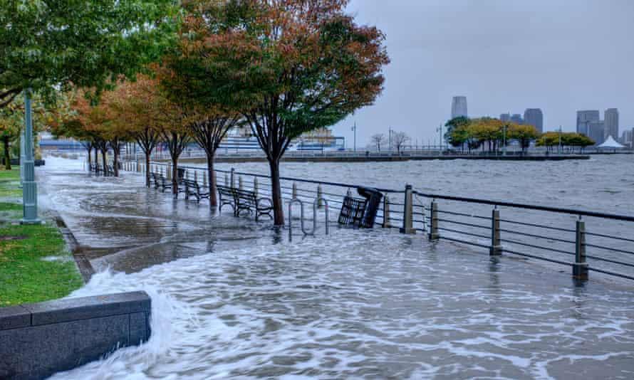 Flooding from Hurricane Sandy in New York