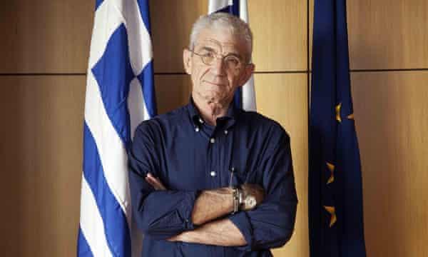 Yiannis Boutaris, mayor of Thessaloniki, Greece