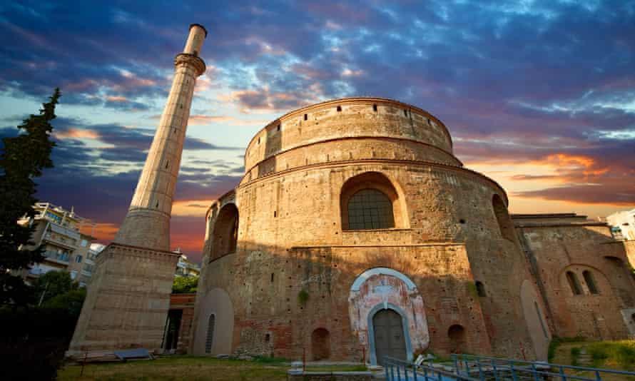 The fourth-century Roman rotunda Church of Agios Georgios, Thessaloniki, Greece