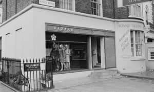 Archie McNair helped Mary Quant invent Bazaar, her fashion boutique on King's Road, Chelsea, London. In its basement, he and Alexander Plunket Greene established Alexander's restaurant. Photograph: Bob Thomas/Getty Images