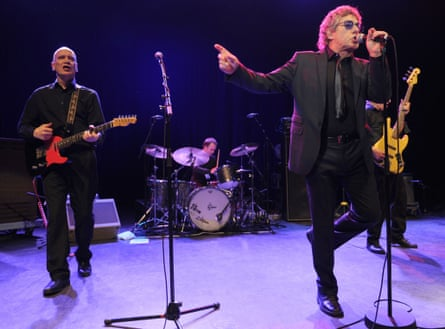 Wilko Johnson and Roger Daltrey live in London in February 2014.