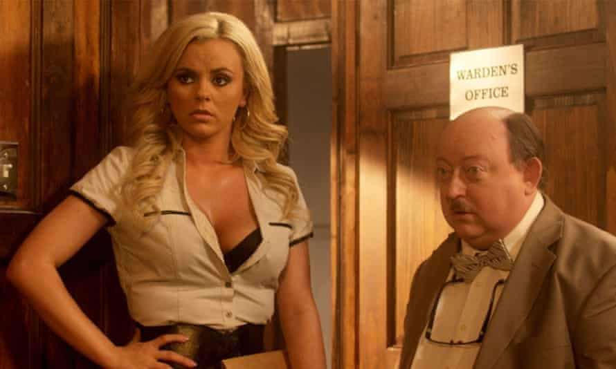 Bree Olson and Laurence R Harvey in The Human Centipede Iii (Final Sequence)