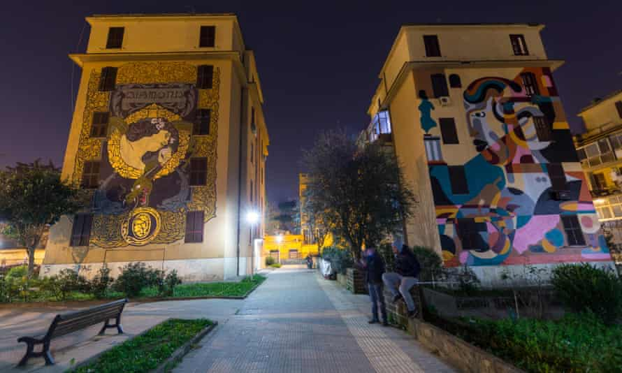Big City Life is a project by Stefano Antonelli and Francesca Mezzano in Rome.
