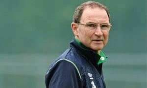 Betting has been suspended on Martin O'Neill returning to Leicester City. Photograph: David Maher/Sportsfile