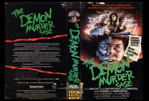 VHS cover art Demon Murder Case