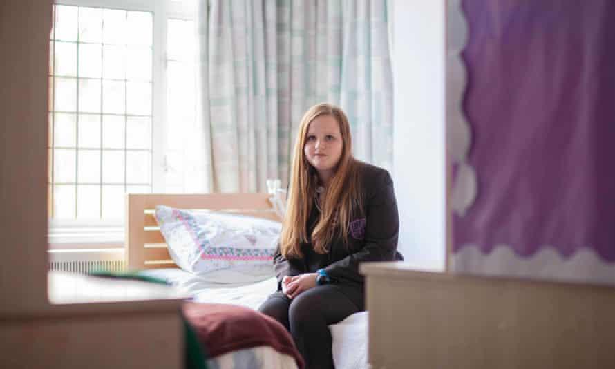 Beth in her bedroom