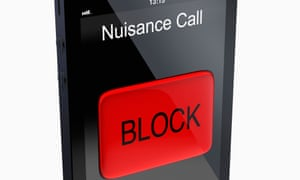 Nuisance call screen