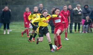 In 2002, the FA declared football the most popular participation sport for women – but some local girls' clubs are still sparsely attended.