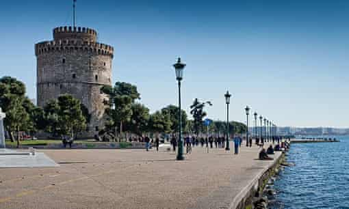The White Tower of Thessaloniki.