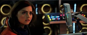 All aboard… Jenna Coleman.