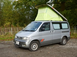 A Mazda Bongo … big enough to fit all the Lib Dems' eight MPs.