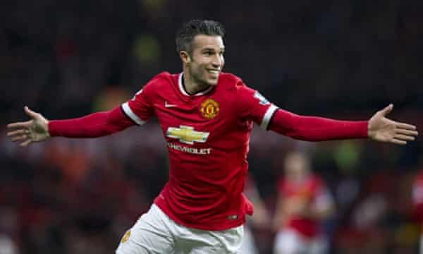 Robin van Persie leaves Manchester United with some magical memories | Robin  van Persie | The Guardian